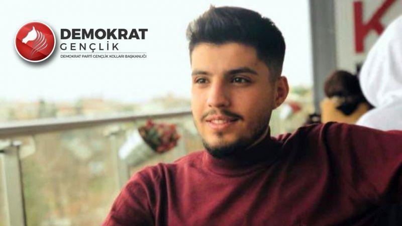 Demokrat Parti'de Gençlik Kolları Güneydoğu Anadolu Koordinatörü Halil Kalkan oldu