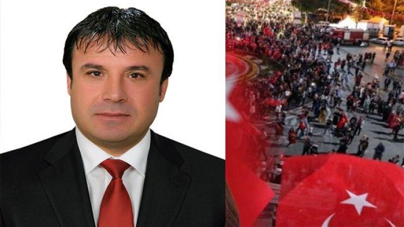 Bahçelievler Mahalle Muhtarı Mehmet Nur Karadaş'tan bağış kampanyasına destek