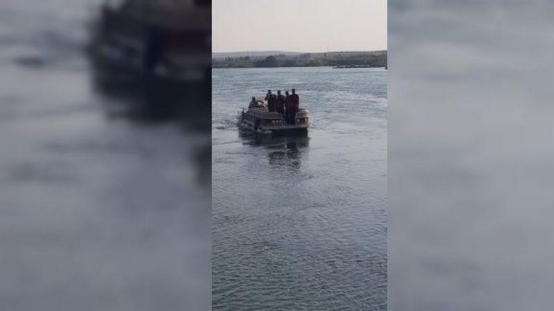Arama çalışmaları devam ediyor: Fırat Nehri'ne atlayan gençten 3 gündür haber yok