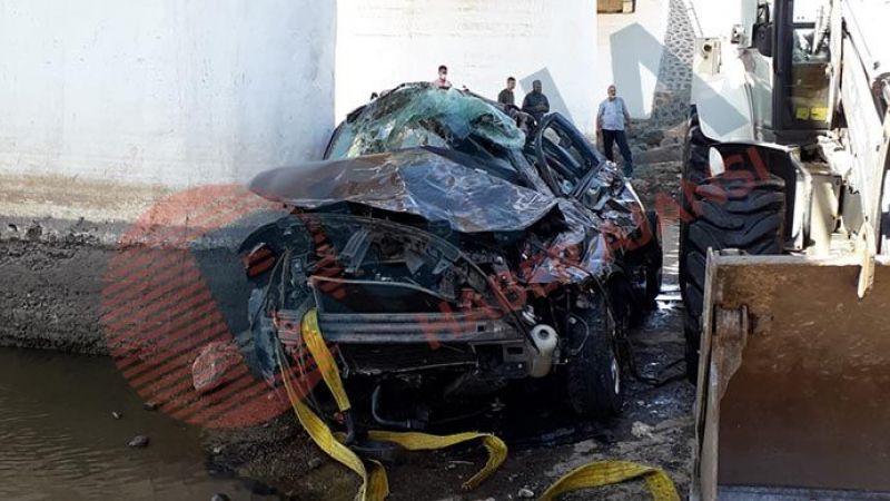 Siverek'te otomobil köprüden uçtu: 5 ölü, 1 kişi aranıyor! (Güncellendi)