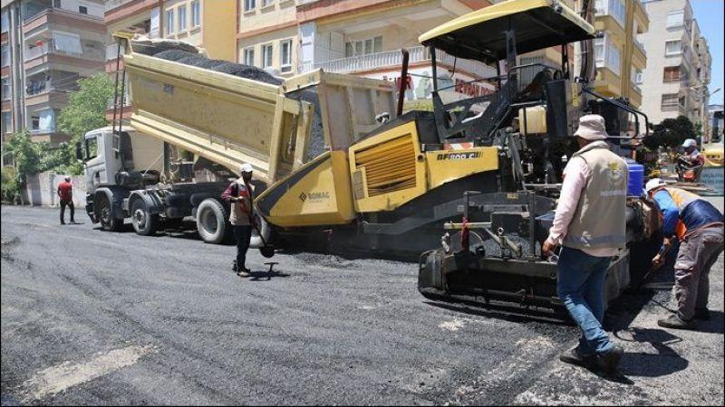 Haliliye Belediyesi, asfalt çalışmalarıyla ilçenin çehresini değiştiriyor