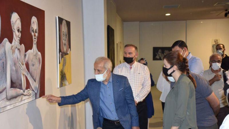Harran Üniversitesi'nin İki Önemli Sergisi,Sanatseverlerin beğenisine sunuldu