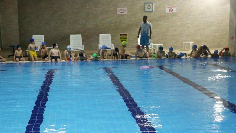 Haliliye'de Çocuklara yönelik yüzme kursu başladı