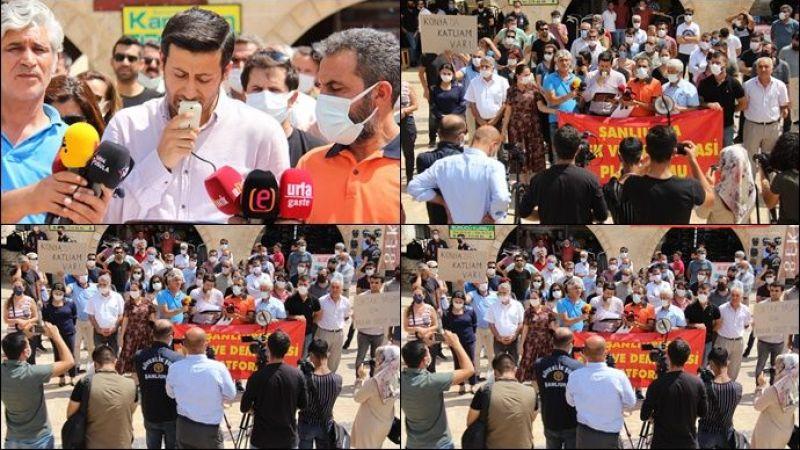 Konya'daki saldırı Şanlıurfa'da kınandı!