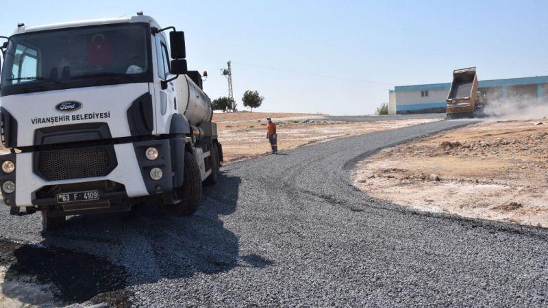 Viranşehir'de Asfalt Çalışmaları Tam Hız Sürüyor