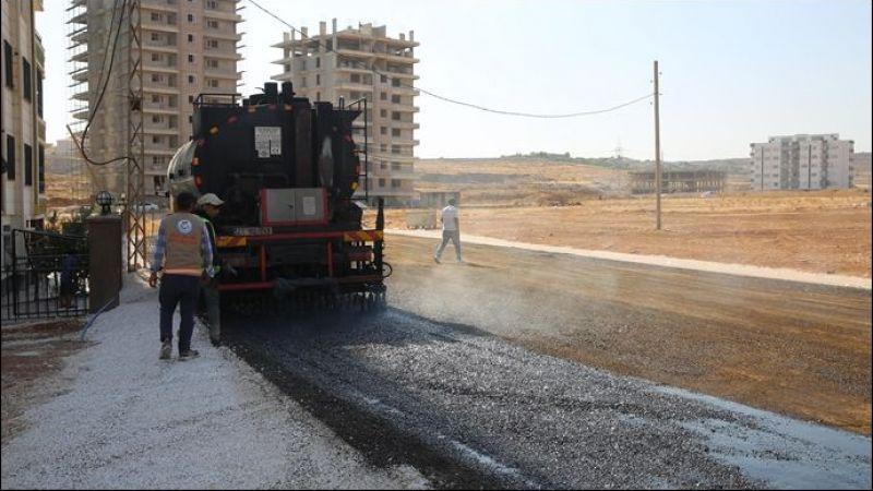 Haliliye'de Asfalt Çalışmalarıyla Yollar Yenileniyor