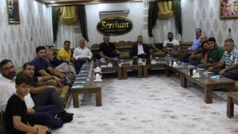 TVGFBF Federasyonu Başkanı Niyazi Kurt, Şanlıurfa'yı ziyaret etti
