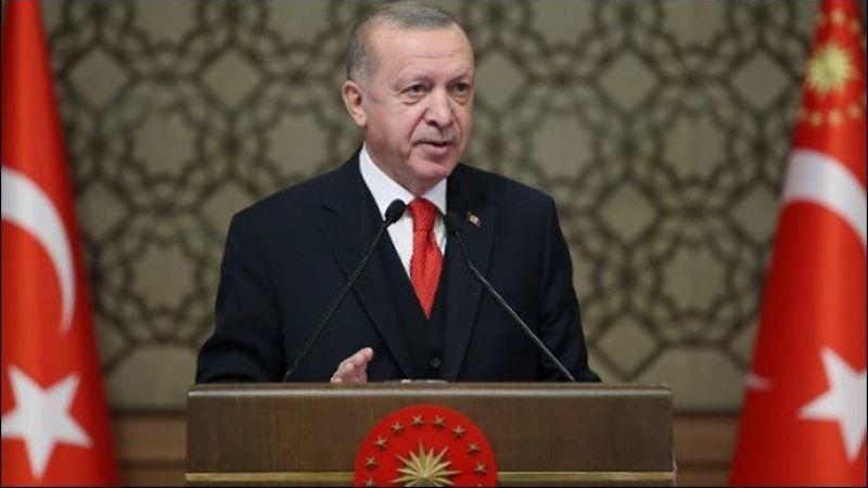 Cumhurbaşkanı Erdoğan, Malazgirt Zaferi'nin 950. yıl dönümünde Ahlat'ta düzenlenen etkinlikte konuştu