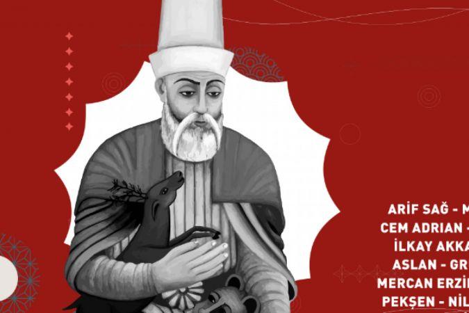 Hacı Bektaş Veli Festivali'nde, kalp kalbe gönül gönüle