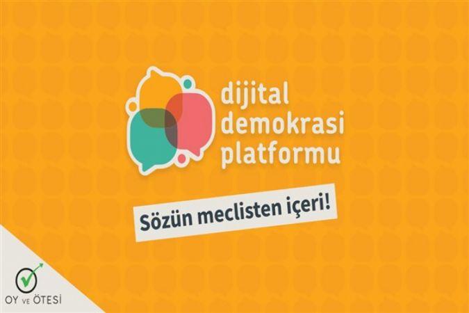 """Oy ve Ötesi """"Dijital Demokrasi Platformu""""nu kurdu"""