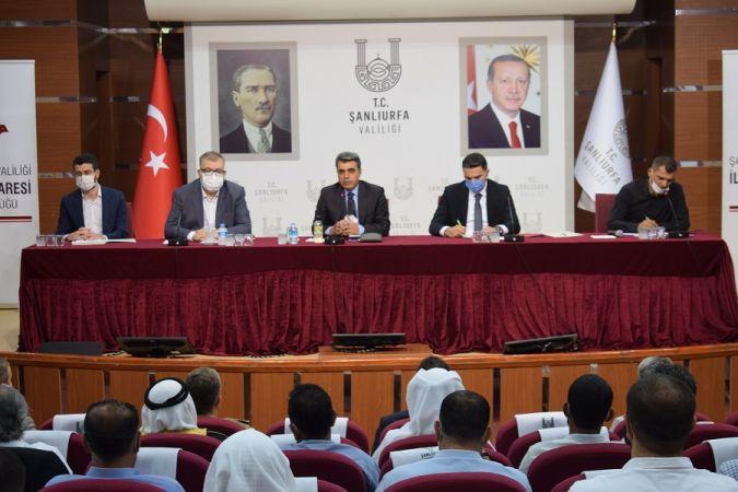 Şanlıurfa'da Yaşayan Suriyeliler ve Yabancılarla Uyum Toplantısı Yapıldı