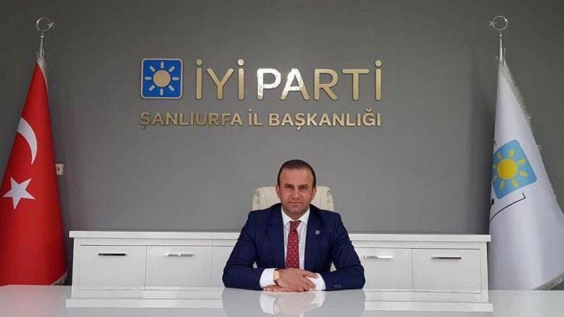 İYİ Parti Şanlıurfa İl Başkanı Mehmet Fedai Çakmaklı İsyan Etti
