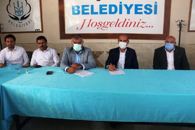 Akçakale Belediyesinden İşçilere 'Barış Pınarı' ve Pandemi İkramiyesi