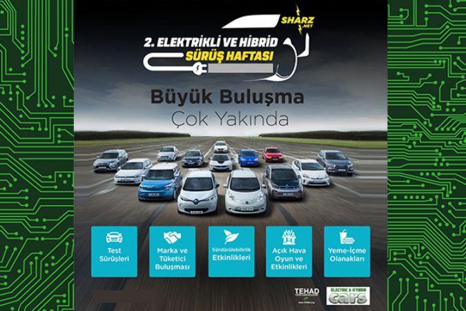 Türkiye'nin elektrikli araç sürüş haftası ikinci kez kutlanacak