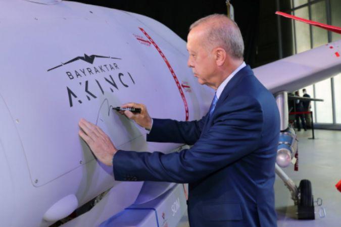 Cumhurbaşkanı Erdoğan, Baykar Akıncı TİHA Teslimat ve Kurs Bitirme Töreni'ne katıldı