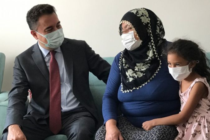 DEVA Partisi ülke çapında şehit ailelerini ziyaret etti