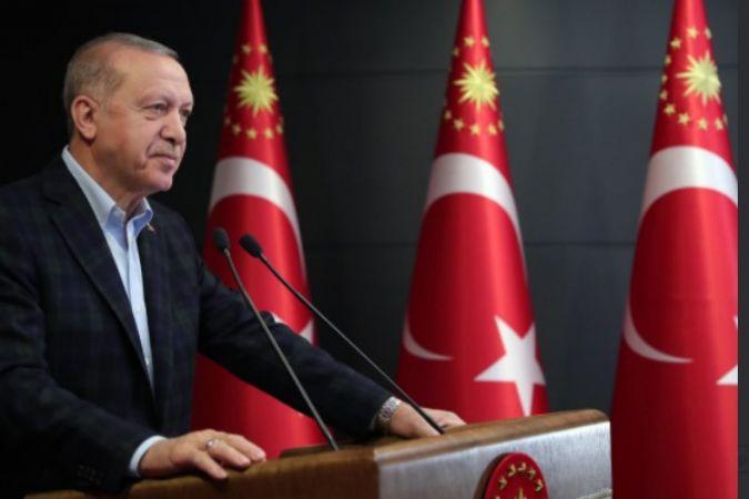 Cumhurbaşkanı Erdoğan, MSÜ Kara Harp Okulu Diploma Töreni'nde konuştu