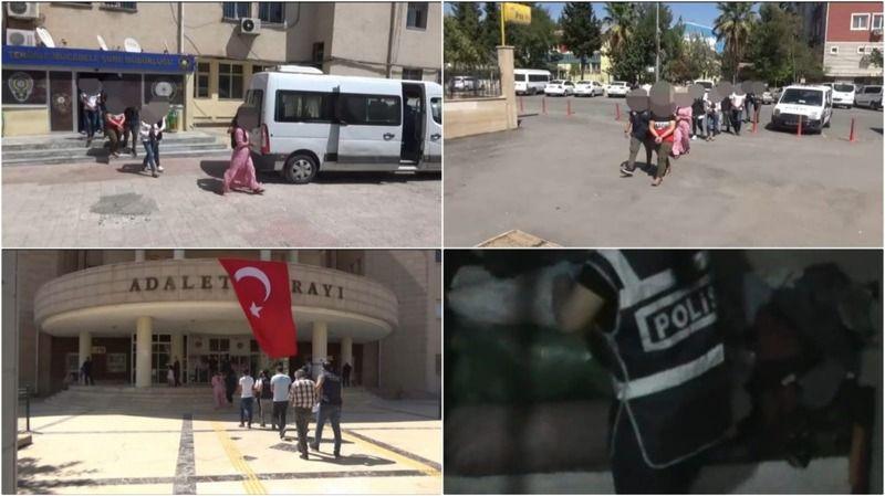 Urfa'da PKK/KCK-PYD/YPG operasyonu:6 Gözaltı