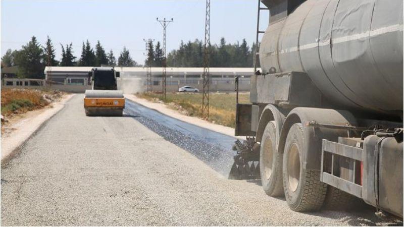 Haliliye Belediyesi Kırsalda Asfalt Atağını Devam Ettiriyor