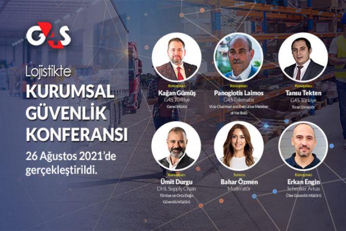 G4S ile Lojistikte Kurumsal Güvenlik Konferansı 26 Ağustos 2021'de gerçekleştirildi
