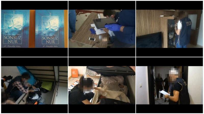 Şanlıurfa'da, FETÖ operasyonu: 8 gözaltı