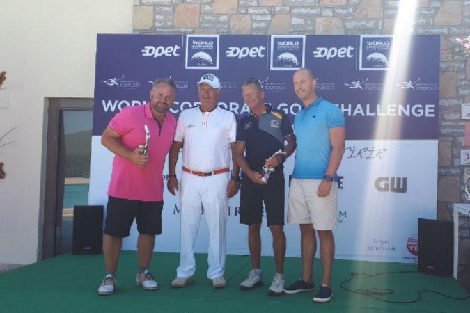 Dünya Kurumsal Golf Turnuvası-Türkiye 2021 şampiyonları belli oldu