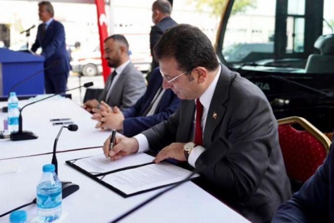 """300 metrobüs alımına onay bekleyen İmamoğlu: """"İstanbulluyu mağdur ederseniz, İstanbullu sizi tanımaz"""""""