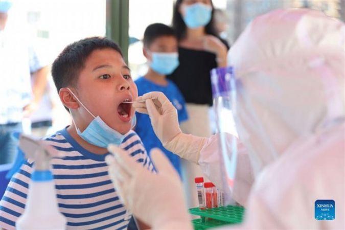 Vaka sayısı 100'ü geçen Fujian'ın tüm sakinlerine Kovid-19 testi yapılacak