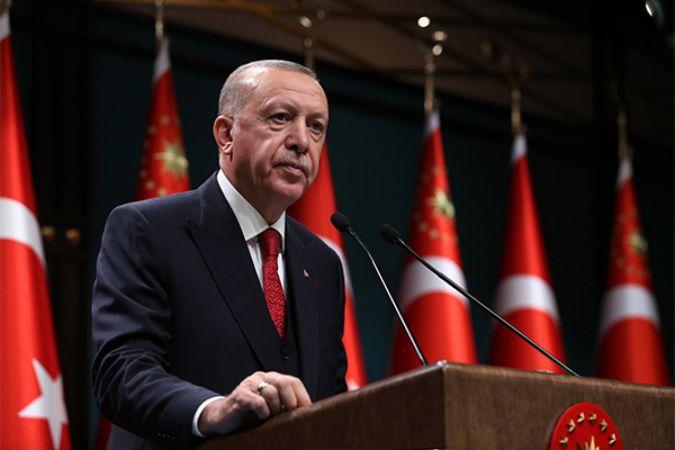 Cumhurbaşkanı Erdoğan'dan Azerbaycan mesajı
