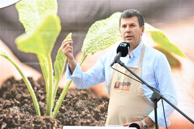 Kadıköy Bostanlarına ilk tohumlar atıldı