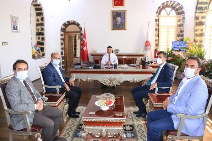 Başkan Kırıkçı, Siverek'te Teşkilatı ile Buluştu