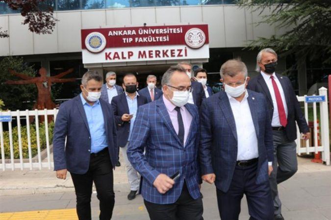 Davutoğlu'ndan Doğu Türkistan'ın önemli ismine ziyaret