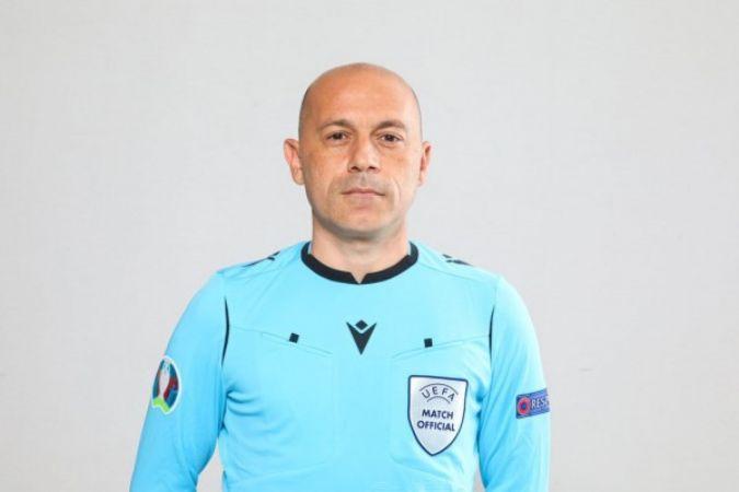 Cüneyt Çakır'a Şampiyonlar Ligi maçında görev