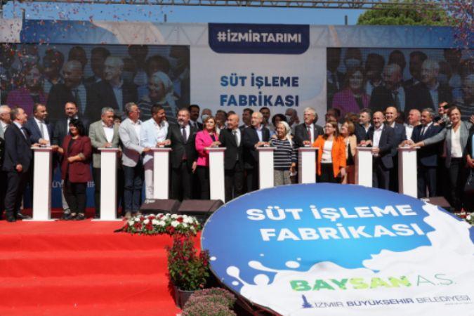 """Kılıçdaroğlu: """"Soyer, üreticiden aldığı güçle fabrikalar kuruyor, her fabrika bir kaledir"""""""