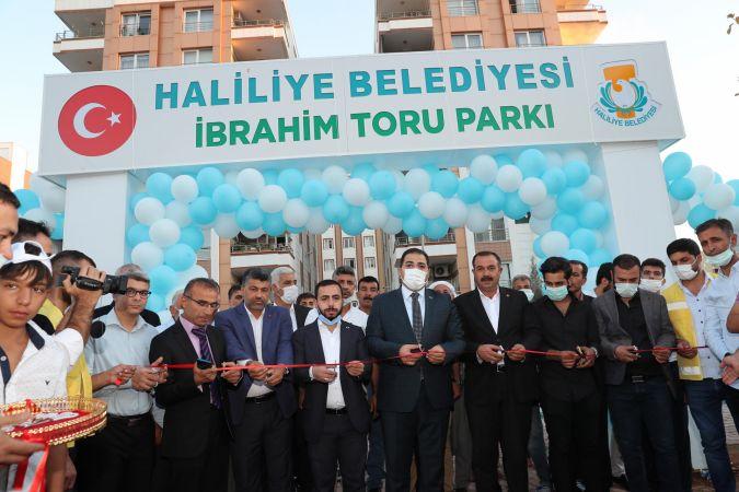 Haliliye Belediyesi İbrahim Toru Parkı Açılışı Yapıldı