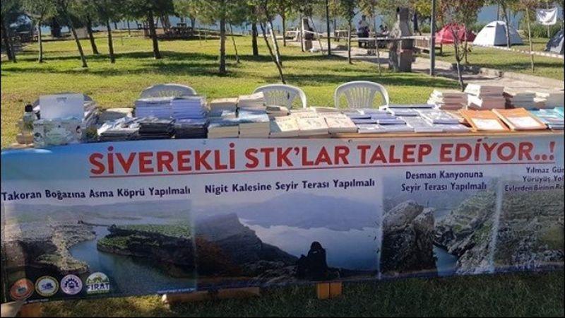 Siverek'teki STK'lar Takoran Vadisi ile ilgili taleplerini afişle duyurdu: Başkan Çakmak'a Duyurulur..