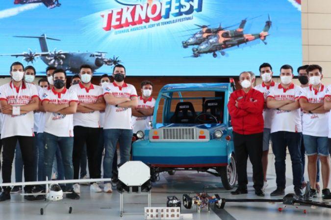 Hasan Kalyoncu Üniversitesi, TEKNOFEST'e en çok proje sunan vakıf üniversitesi oldu