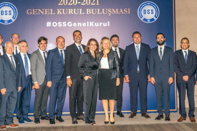 OSS Derneği'nde yönetim kurulu güven tazeledi
