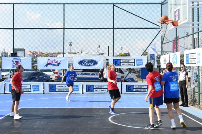 Kadıköy'de Streetball Turnuvası