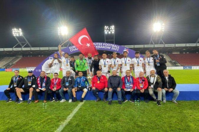 Ampute Futbol Milli Takımına özel ödül