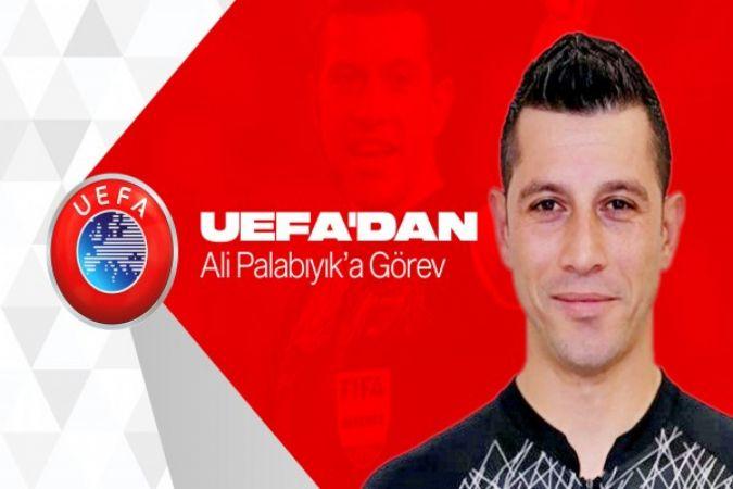 Palabıyık, UEFA Avrupa Ligi maçında düdük çalacak