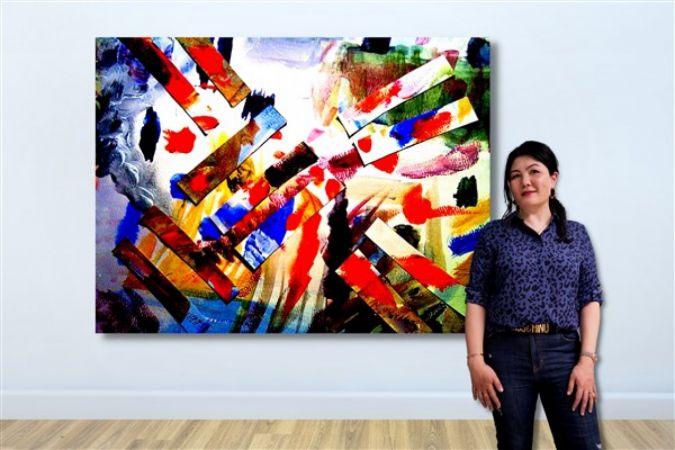 Çağdaş Sanatçı Gao Anqi Kocasinan, Galeri Binyıl ile Contemporary İstanbul'da
