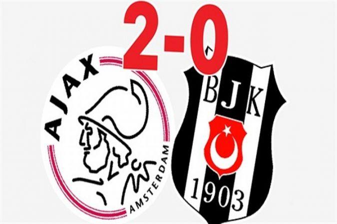 Beşiktaş, Ajax maçı sona erdi