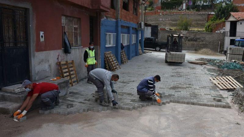 İbrahimce Mahallesi Sokakları Yenileniyor