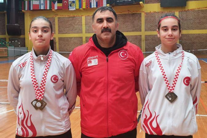 Türk Telekom'un millî sporcularına Hırvatistan'da iki altın madalya