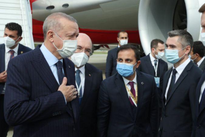 Cumhurbaşkanı Erdoğan, Soçi'de