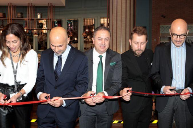 Ömür Akkor'un Anadolu mutfağı BTA iş birliğiyle İstanbul Havalimanı'nda