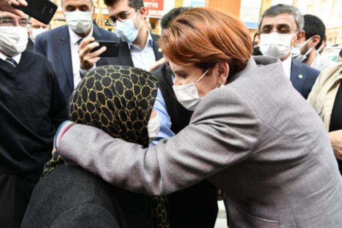 Akşener, Kırşehir'de esnafı ziyaret etti