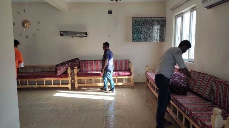 Suruç'ta Taziye Evlerindeki Halılar Kaldırıldı