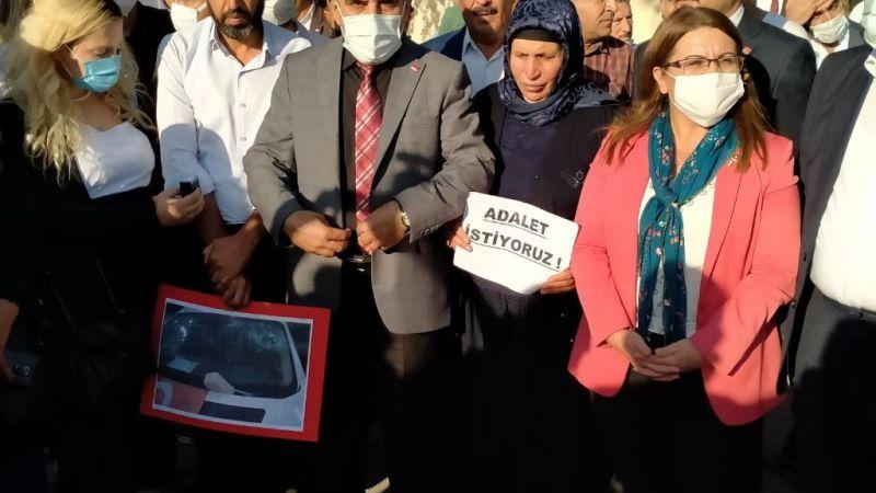 CHP Genel Başkan Yardımcısı Karaca ve CHP Heyeti'nden Şenyaşar, Ailesine Ziyaret